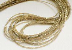 2 Inch Beige Yellow Sparkling Diamonds Beige by gemsforjewels