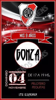001d293d9 Invitación Digital River Plate Imprimible Tarjeta Cumpleaños - $ 160,00 en Mercado  Libre