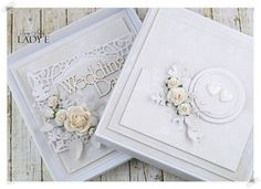 Scrap Art by Lady E: Wedding Set / Komplet Ślubny