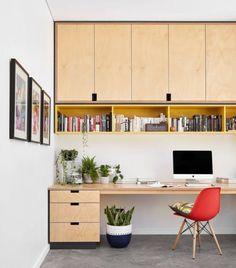 Best Two Person Desk Design Ideas for Your Home Office Workspace Office Nook, Home Office Space, Home Office Design, Home Office Furniture, Home Office Decor, Home Interior Design, House Design, Home Decor, Garage Office