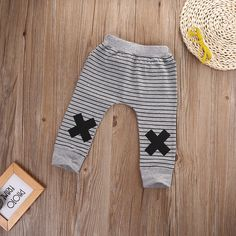 The Doube X Wild Monster Striped Leggings from kidspetite.com! Adorable & affordable baby, toddler & kids clothing. Shop from one of the best providers of children apparel at Kids Petite. FREE Worldwide Shipping to over 230+ countries ✈️ www.kidspetite.com #leggings #girl #newborn #clothing #infant #baby Girls Harem Pants, Baby Girl Pants, Kids Pants, Baby Girl Romper, Baby Boy Outfits, Boy Or Girl, Kids Outfits, Toddler Pants, Cute Baby Boy
