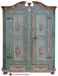 Armadio tirolese datato 1812 | Antichità Missaglia