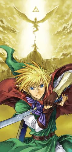 The Legend of Zelda series, The Hero of Legend / 「ゼルダの伝説 01」/「アンティーク」のイラスト [pixiv]