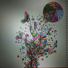 #drawing #art #watercolourpencil #zentangle #doodle #sketching