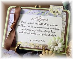 Printable Bible Verses and Quotes | Trust in the Lord with all your heart