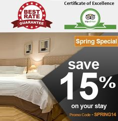Spring Special- Save a hefty 15% off on your hotel stay in London