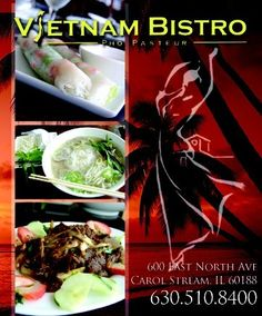 """Discovered this place on our first trip to Carol Stream; it was first experience with Vietnamese cuisine, and all I can say is WOW. A new favorite international/""""ethnic"""" food to add to the list ..."""