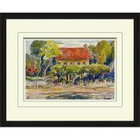 Watercolor Landscape 33x27