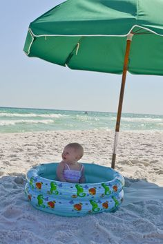 Little and Lovely: Taking baby to the beach and enjoying it