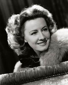 Irene Dunne,  hard to believe she was Granny on Beverly Hillbillies !