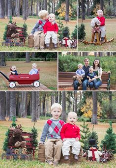 Family, Christmas photos