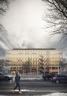 Architects for Urbanity | Varna Public Library. Impression by The Big Picture (www.bigpicturevisual.com)