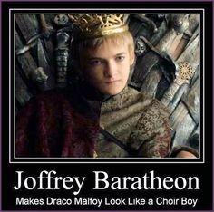King Joffrey Baratheon (Jack Gleeson)