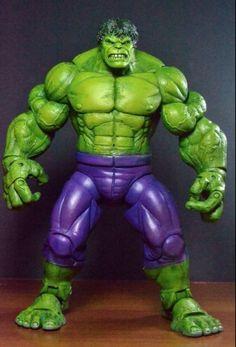 Savage Hulk (Marvel Legends) Custom Action Figure by Eddiegrayce's Custom:
