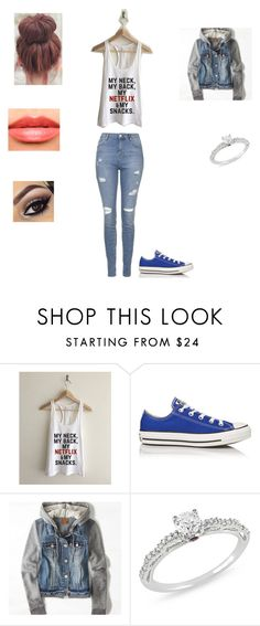 """""""SmackDown- Your walls"""" by nineteenxix ❤ liked on Polyvore featuring Converse, American Eagle Outfitters, Ice, Chanel and Topshop"""