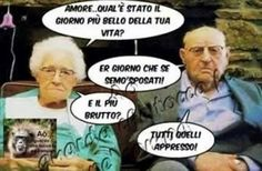 Italian Quotes, Have A Laugh, Love And Marriage, Bellisima, Vignettes, Funny Pictures, Funny Pics, Entertaining, Comics