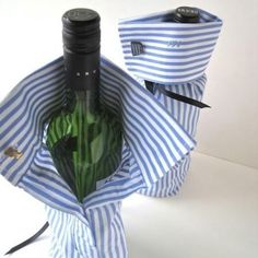 Hey, no kids to dress up...the liquor will just have to do! Nice gift to a special guy in your life. :)