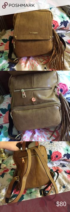 Steve Madden mini backpack New never used really hard to find not that supper cute matches with every outfit. Steve Madden Bags Backpacks