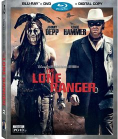 The Lone Ranger rides onto Blu-ray Combo Pack and Digital HD 12/17!
