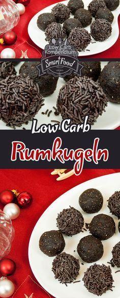 Low Carb Rumkugeln einfach & lecker selbst machen. Diese unwiderstehliche Weihnachts-Nascherei kannst Du als Rumkugel Low Carb Version ganz einfach selbst herstellen.
