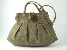 small olive tote handbag sexy bag purse by daphnenen on Etsy,