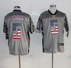 2014 new nike baltimore ravens 5 flacco usa flag fashion grey shadow elite jerseys