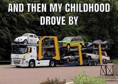 Which car reminds you of your childhood? Bildungsniveau in Großbritannien What tow company is this? Which car reminds you of your childhood? Bildungsniveau in Großbritannien What tow company is this? Car Jokes, Truck Memes, Funny Car Memes, Car Humor, Funny Relatable Memes, Funny Quotes, Funny Pics, Funny Videos, Funny Stuff