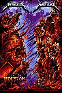 Metallica%2BLos%2BAngeles%2BHouston%2BPrint%2BMaxx242%2BSet