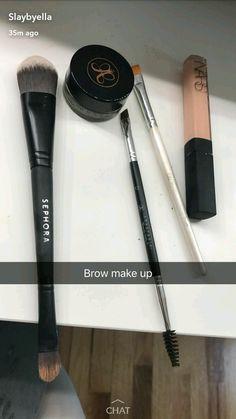 Cute Makeup, Glam Makeup, Skin Makeup, Makeup Inspo, Makeup Brushes, Beauty Makeup, Eyebrow Makeup Tips, Makeup Guide, Drugstore Makeup