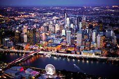 oh the wonders- Brisbane, Australia Brisbane Cbd, Brisbane Queensland, Queensland Australia, Brisbane River, Australia House, Hello Australia, Surf, Australia Tourism, Places To See