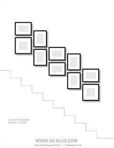 photo gallery wall on a staircase . - photo gallery wall on a staircase - Stairway Photos, Stairway Gallery Wall, Staircase Pictures, Stair Gallery, Frame Gallery, Gallery Walls, Picture Arrangements, Photo Arrangement, Staircase Wall Decor