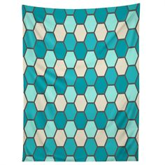 Holli Zollinger Ocean Tile Tapestry | DENY Designs Home Accessories