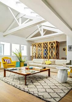11 Living Rooms by India Mahdavi You Can't Miss