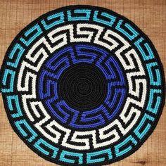 WIG-of-Strickn # # gørdetselv Source Crochet Chart, Crochet Motif, Crochet Designs, Crochet Stitches, Knit Crochet, Wiggly Crochet, Mochila Crochet, Tapestry Crochet Patterns, Tapestry Bag