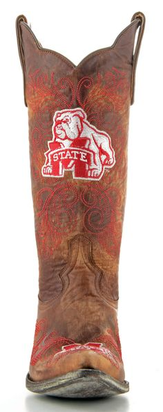 Womens Mississippi State University boots