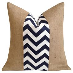 Penelope Pillow in Navy