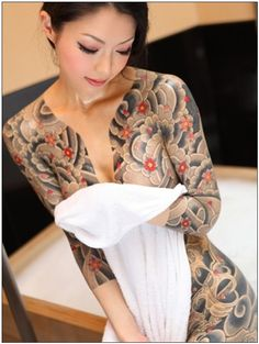 Yakuza #full body #tattoo