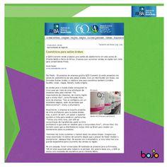17/02/2013 - Cosméticos para salões árabes. - assessoria de imprensa - QOD Cosmetic - beleza - cabelos
