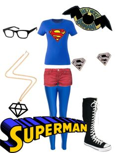 """""""Starkid's Holy Musical B@man ~ Superman"""" by emilymorgan-2 ❤ liked on Polyvore"""