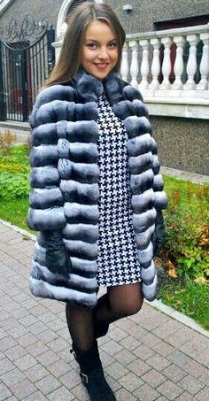 Chincillá fur coat