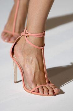 Peach Sandals.