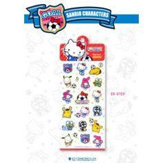 Sanrio Hello Kitty x FIFA 2014 Stickers Limited Edition