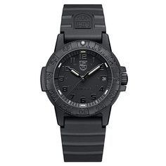 a451839b07dc6 Luminox Leatherback Sea Turtle 0300 series Watch with carbon compound Case  Black|Black Dial and