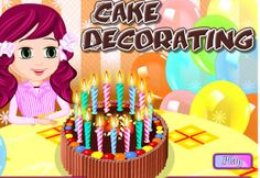 Cake Decoration is one of the most amazing part in cake cooking so join us in this Free online Cooking game and Decorate the cake with us and show your creativity! Cake Games, Cooking Games, Cake Recipes, Cake Decorating, Birthday Cake, Ice Cream, Make It Yourself, Play, Decoration