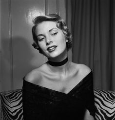 Grace Kelly photographed by Ed Vebell, New York, 1949.