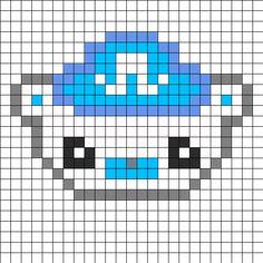 Captain Barnacles - Octonauts perler bead pattern