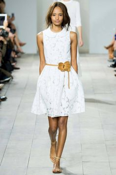 Fashion runway| Michael Kors Spring-Summer 2015 rtw | http://www.theglampepper.com/2014/10/18/fashion-runway-michael-kors-spring-summer-2015-rtw/
