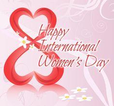 Happy International Women's Day!  March 8 / Marzo 8!!!!!!