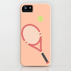 #19 Tennis iPhone Case by MNML Thing - $35.00