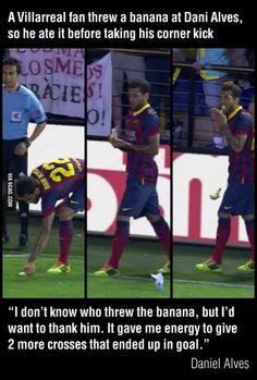 Banana Soccer Daniel Alves